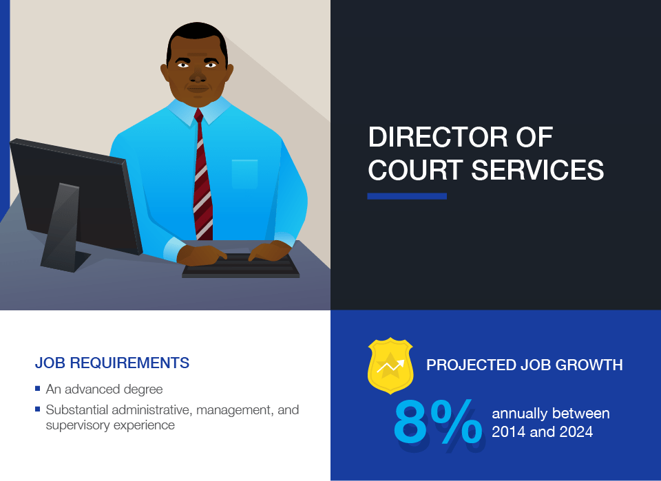 Criminal Justice Careers: Director of Court Services
